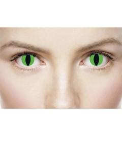 Xtreme Eyez Halloween Contact Lens Alien