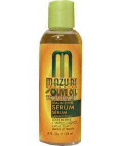 Olive Oil Texturizer Seal In Shine Serum