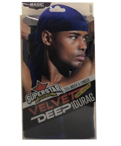 Magic Collection Superstar Velvet Deep Wave Durag 4803ROY