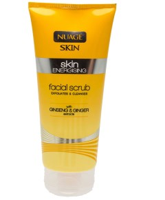 Nuage Skin Energising Facial Scrub With Ginseng And Ginger Extracts