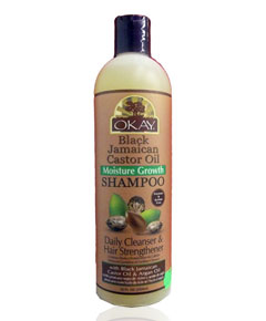xbi okay okay black jamaican castor oil moisture growth shampoo