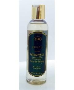P 50 Organic Toning Ginseng Oil