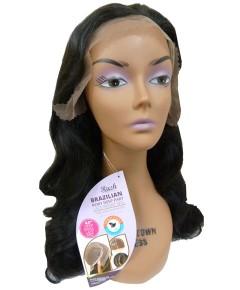 Brazilian Remy Deep Part HH Jennifer XXL Lace Front Wig