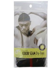 Titan Color Seam Du Rag 625 Black