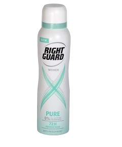 Right Guard Women Pure 72H Protection Anti Perspirant