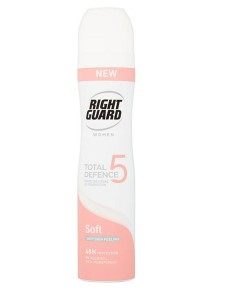 Right Guard Women Total Defence 5 Soft Antiperspirant
