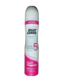 Right Guard Women Total Defence 5 Sport Spray