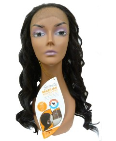 Brazilian Remi Deep Part Blended HH Vanity Swiss Lace Wig