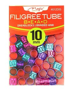 Magic Collection Filigree Tube Bead 012DIS Assorted
