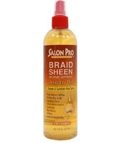 Salon Pro Exclusives Argan Oil Braid Sheen Shine Spray
