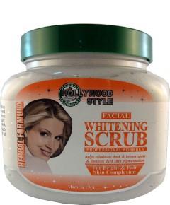 Hollywood Style Facial Whitening Scrub