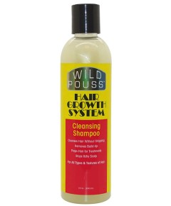 Wild Pouss Hair Growth System Cleansing Shampoo