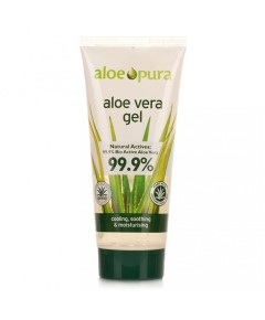 Aloe Pura Aloe Vera Gel With Antiseptic Tea Tree Oil