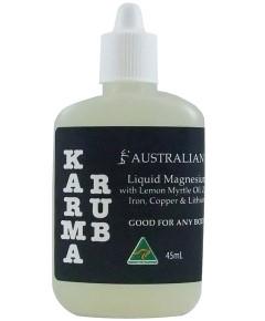 Australian Karma Rub Liquid Magnesium