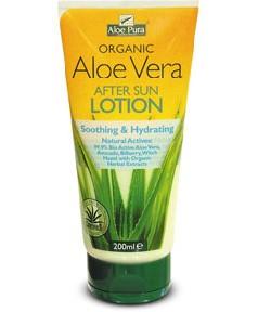 Aloe Pura Organic Aloe Vera After Sun Lotion