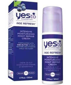 Blueberries Age Refresh Intensive Moisturizing Night Repair Cream