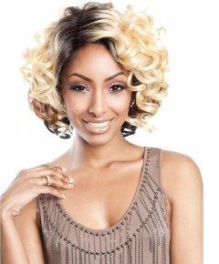 Brown Sugar Silk Lace Front HH Blend BS208 Wig