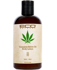 Eco Natural Cannabis Sativa Oil Body Lotion