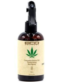 Eco Natural Cannabis Sativa Oil Texturizing Salt Spray