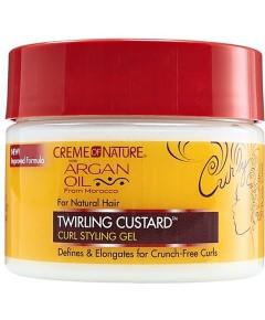 Argan Oil Twirling Custard Curl Styling Gel