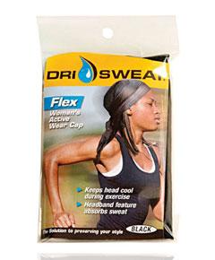 Dri Sweat Flex Womens Active Wear Cap
