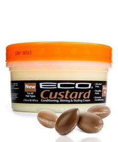 Eco Custard Styling Cream Argan Oil