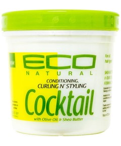 Eco Natural Curl N Styling Cocktail With Olive Oil And Shea Butter