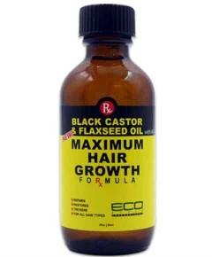 Black Castor And Flaxseed Oil Maximum Hair Growth Formula