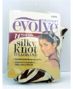 Evolve Wild Life Silky Knot Headband