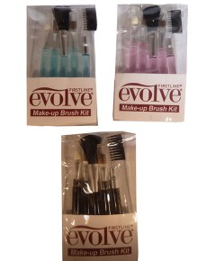 Evolve Make Up Brush Kit