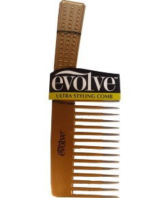 Evolve Ultra Styling Comb Metallic Gold 4155