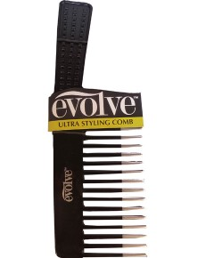 Evolve Ultra Styling Comb Black 415