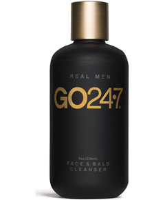 Go247 Real Men Face And Bald Cleanser