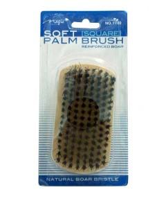 Magic Collection Natural Boar Bristle Soft Square Palm Brush 7740