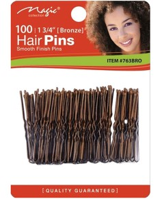 Magic Collection Ball Tip Hair Pins 763BRO