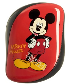 Disney Mickey Mouse Detangling Hairbrush Black Compact Styler