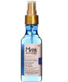 Maui Moisture Nourish And Moisture Coconut Milk Weightless Oil Mist