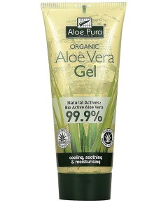 Aloe Pura Organic Aloe Vera Gel Natural Actives