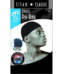 Tittan Classic Short Du Rag 11197 Black
