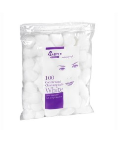 Simply Cotton Wool Cleansing Balls
