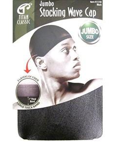 Titan Classic Jumbo Stocking Wave Cap