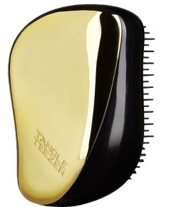 On The Go Detangling Hairbrush Compact Styler Golden Rush