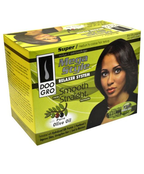 Doo Gro Doo Gro Mega Style Smooth And Straight Relaxer