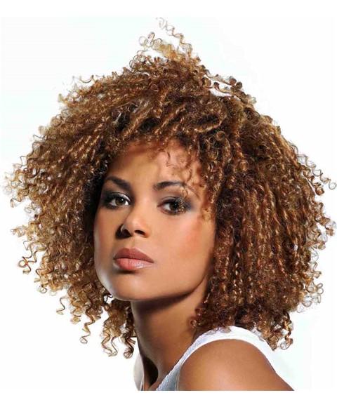 Curly Weave Brazilian Weave Syn Corkscrew Curls