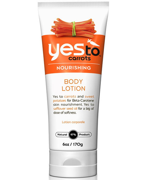 Yes to carrots body lotion