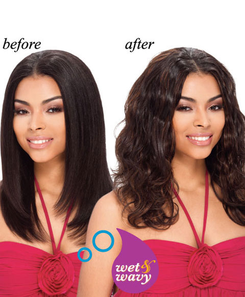 Wet And Wavy Remy Hair Styles 90