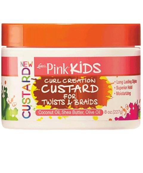 Kids Moisturiser Pink Kids Curl Custard For Twist And