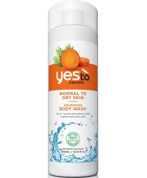 Yes to carrots body wash